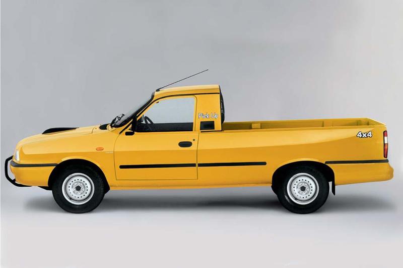 automobile romanesti dacia dacia pick up. Black Bedroom Furniture Sets. Home Design Ideas