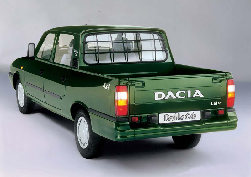 automobile romanesti dacia dacia pick up. Black Bedroom Furniture Sets. Home Design Ideas