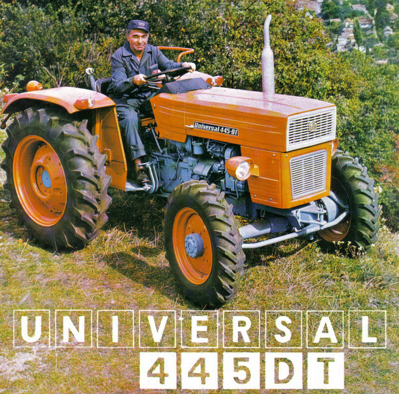 Tractor Dt 445 Picture