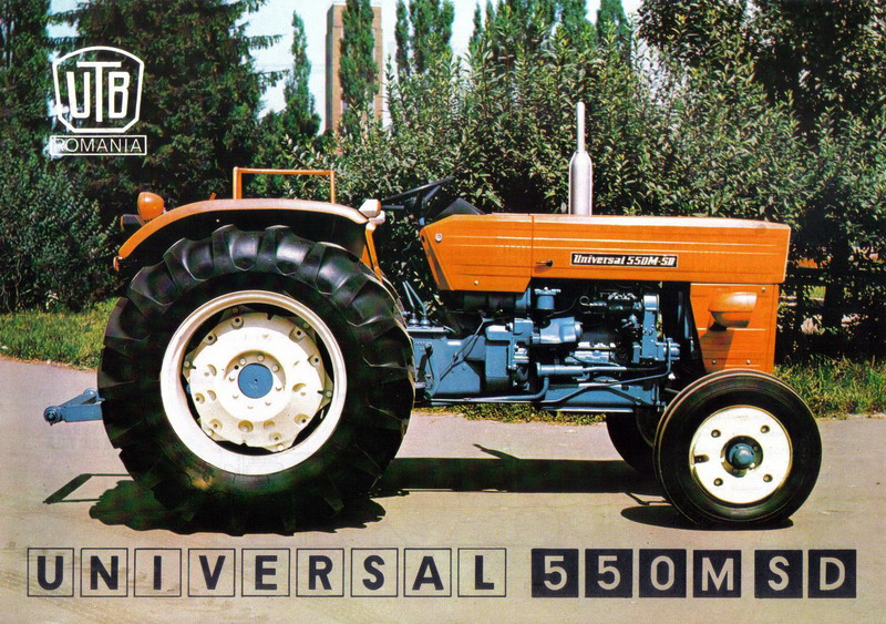 automobile romanesti tractorul utb u500