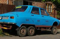 Dacia cu 6 roti
