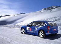 Dacia Duster Rally