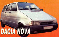 Dacia Nova MPV
