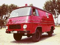 TV-12 F Autospeciala de stingere cu pulbere