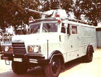 SR 114 Autospeciala de stingere cu pulbere